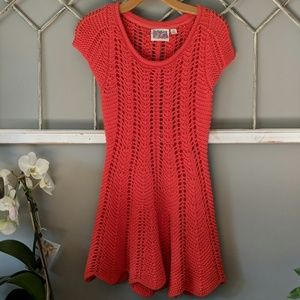 Rosie Neira Panel Shells sweater dress / tunic